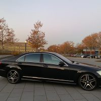 W221 S600 Langversion im 65er Look mit Vollausstattung