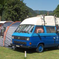 VW T3 Camper mit Hochdach 1989