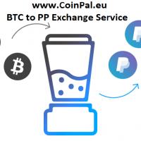 Bitcoins zu PayPal Exchange Service – Jetzt bei CoinPal.eu!